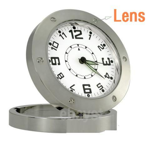 Spy Camera Clock Motion Detection DVR Record Cam Watch